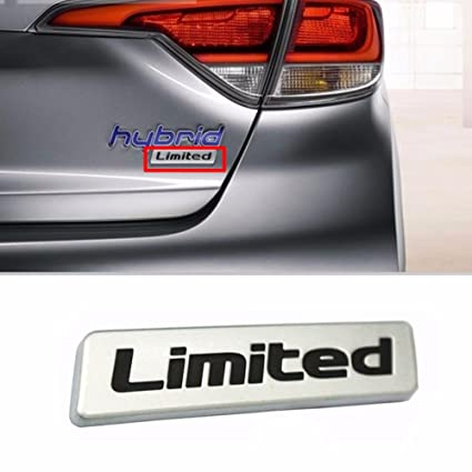 Amazon Com Rear Trunk Limited Logo Emblem Badge For Hyundai 2011 16