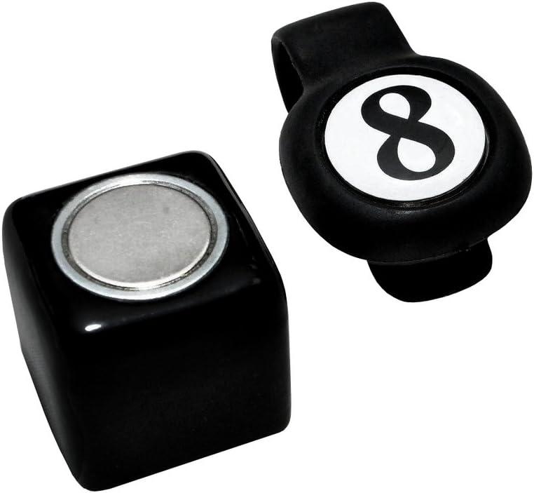 2 in 1 Chalk Holder Magnetic Stick Billiard Snooker Pool Cue Tip Pricker  HO