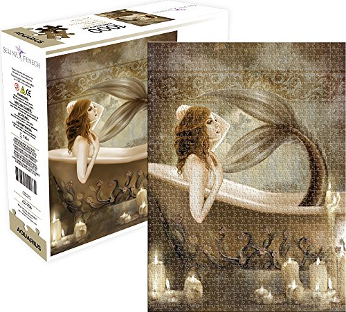Aquarius Mermaid Bath Time 1000 Piece Jigsaw (Aquarius Bath)