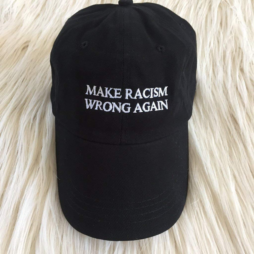 Make Racism Wrong Again Embroidered Hat