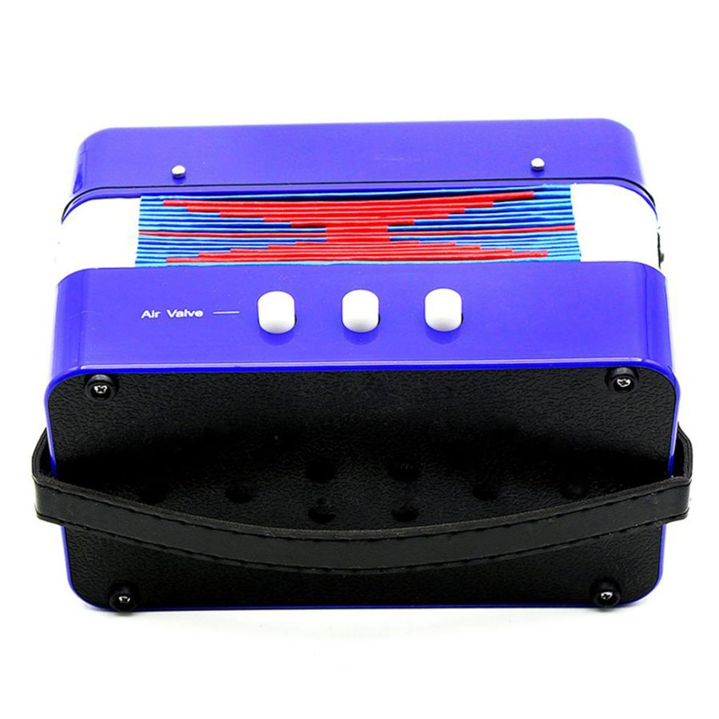 Almencla Kids Percussion Accordion Musical Toy Children Musical Instrument Blue by Almencla (Image #6)