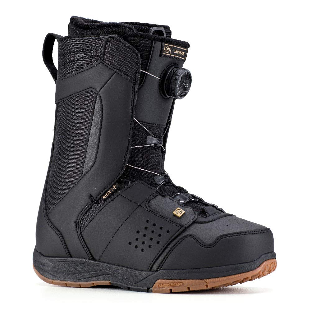 Ride Jackson Boa Coiler Snowboard Boots 2019-9.5/Black by Ride