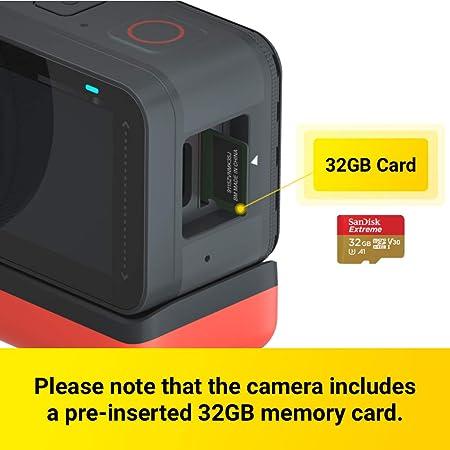 Insta360 One R Action Kamera Wechselobjektiv Mit Kamera