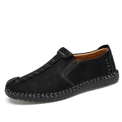 Herren Leder Lace Breathable Handgefertigte Oxford Schuhe