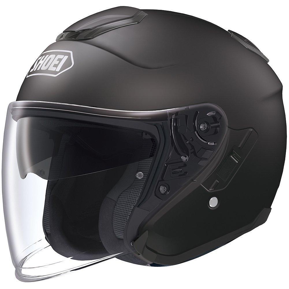 Shoei Solid J-Cruise Touring Motorcycle Helmet - Matte Black/X-Large