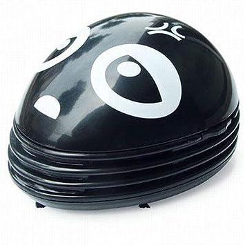 Niceeshop(TM) Electric Table Vacuum Cleaner Mini Dust Cleaner Black Bad  Ghost Prints Design