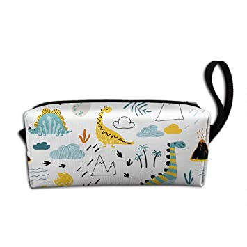 Cute Hedgehog Canvas Accessory Pouches Everything Bag Makeup Case