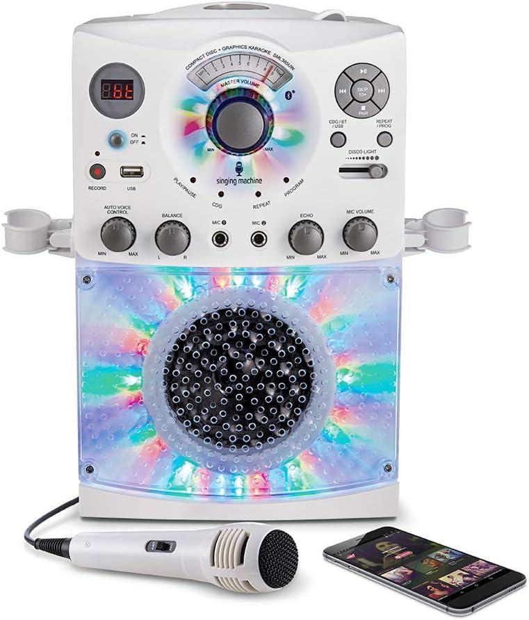 STVG784BK Singing Machine Karaoke Player