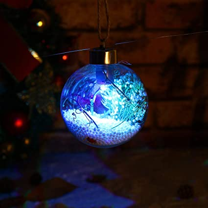 Amazon boluoyi outdoor lighting products christmas lights boluoyi outdoor lighting productschristmas lights multicolorchristmas tree pendant hanging home ornament christmas aloadofball Image collections