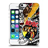 Official AC/DC ACDC Icons Collage Hard Back Case for Apple iPhone 5 / 5s / SE