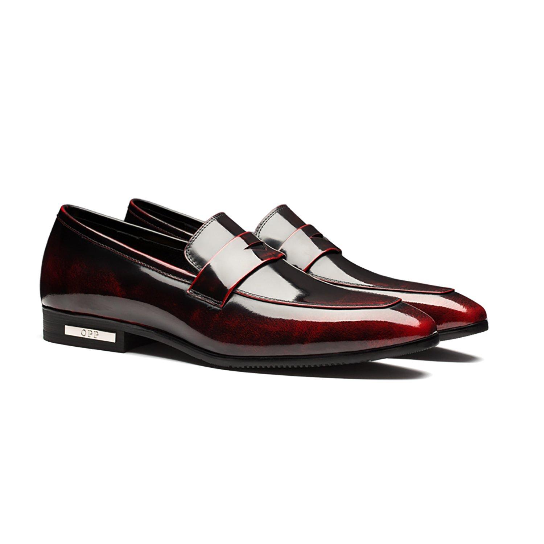 Opp Dress Men Shoes Wine