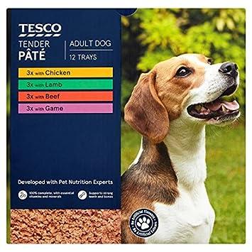 Tesco Tender Dog Food Pate 12 X150g Amazon Co Uk Pet Supplies