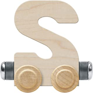product image for NameTrain Unfinished Letter Car S - Made in USA