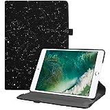 Fintie Custodia Compatibile con Apple Nuovo iPad 9.7 Pollici 2018 2017 / iPad Air 2 / iPad Air Cover - Multi-angli Stand Case Cover Protettiva con Auto Sveglia/Sonno Funzione, Constellation
