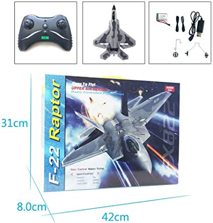 Mini RC F22 Raptor Model Toy Drone EPP Remote Control RC Airplane Kids F22 Toy Jet Fighter Aircraft Model Beginner