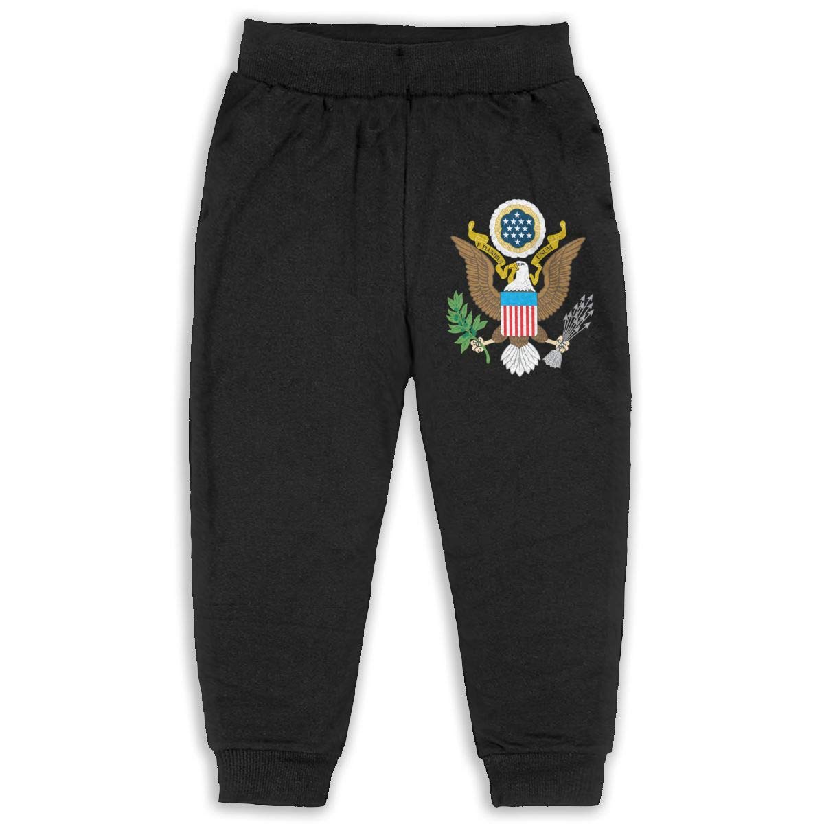 DaXi1 Seal Sweatpants for Boys /& Girls Fleece Active Joggers Elastic Pants