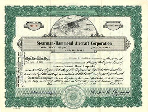 (Stearman-Hammond Aircraft Corporation)