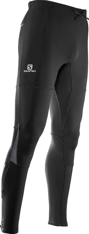 SALOMON Pulse Warm Tight Running Pants Mens