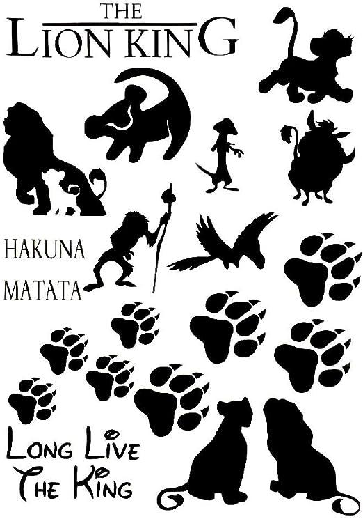 Hakuna Matata Disney Choose Color /& Size Lion King Decal // Sticker Simba