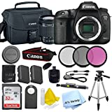 Canon 7D Mark II Digital SLR Camera with EF-S 18-55mm IS STM Lens(Black) with SanDisk Ultra 32GB SDHC Class 10 Card + More...