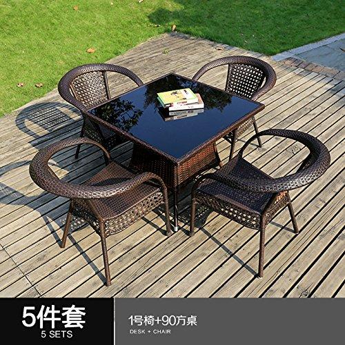 La combinación de LZL 35 conjuntos de muebles de exterior ...