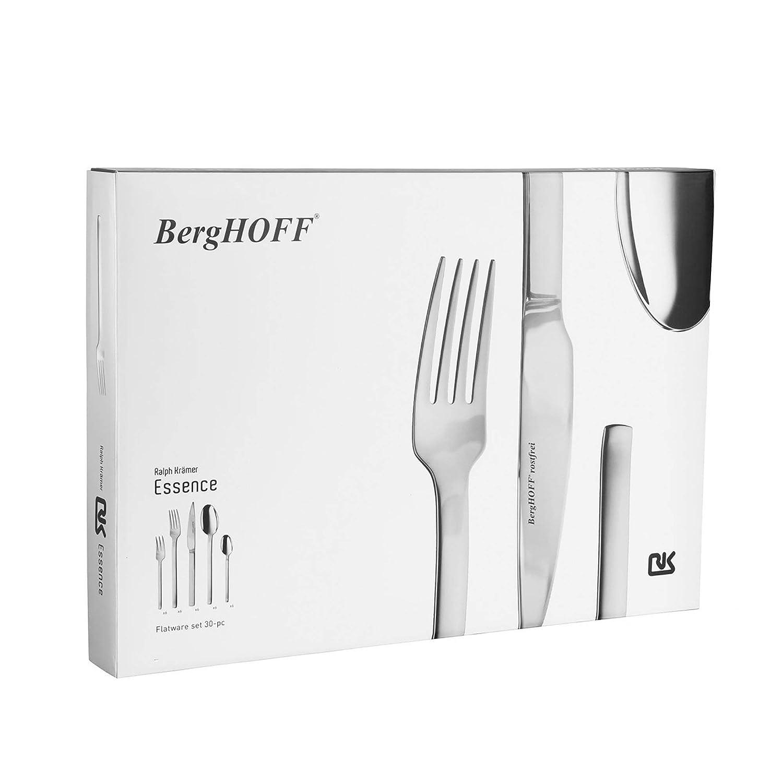 Berghoff Essence - Cubertería (30 Piezas, 6 Personas), Color ...