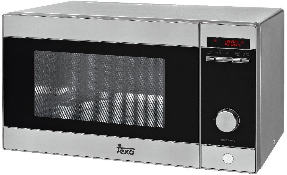 Teka MWE 230 G - Microondas con grill, 1250 W, de color gris product image