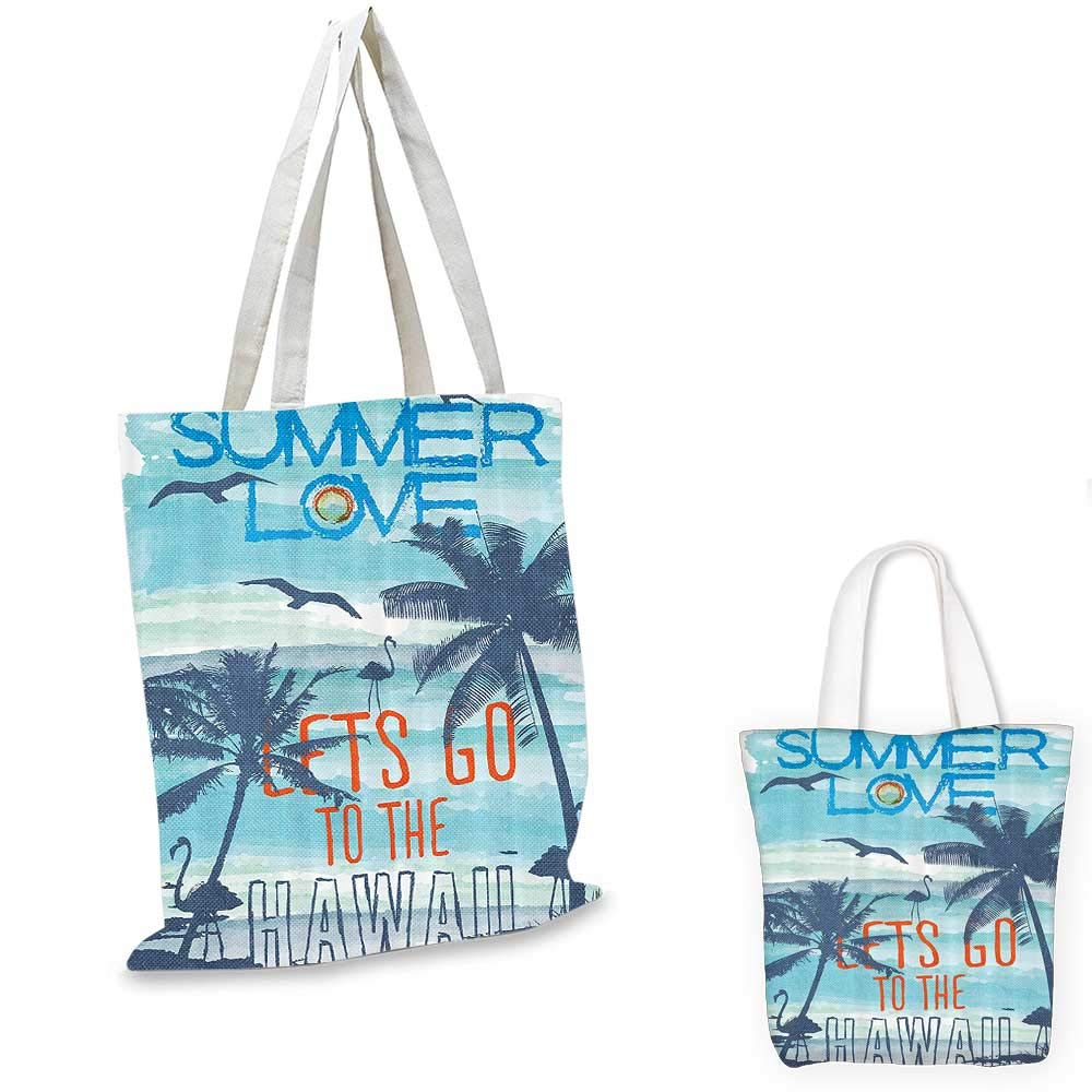 Summer shopping bag Colorful Bunch Flip Flops Sandals Pattern Relax Holiday Sunbath Theme Groovy Graphic foldable shopping bag Multicolor 12x14-10
