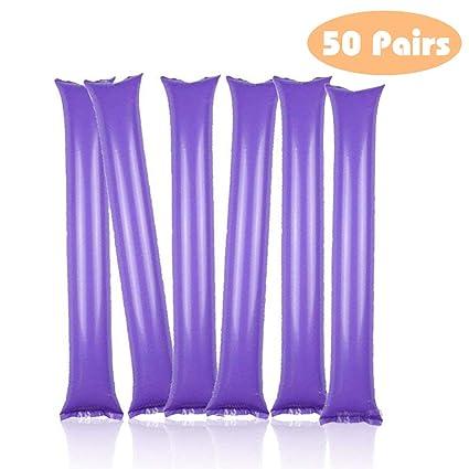 amazon com thunder sticks bam bam cheer sticks blow bar inflatable