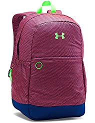 Under Armour Womens UA Backpack (Youth) Caspian/Pink Chroma/Limelight Backpack