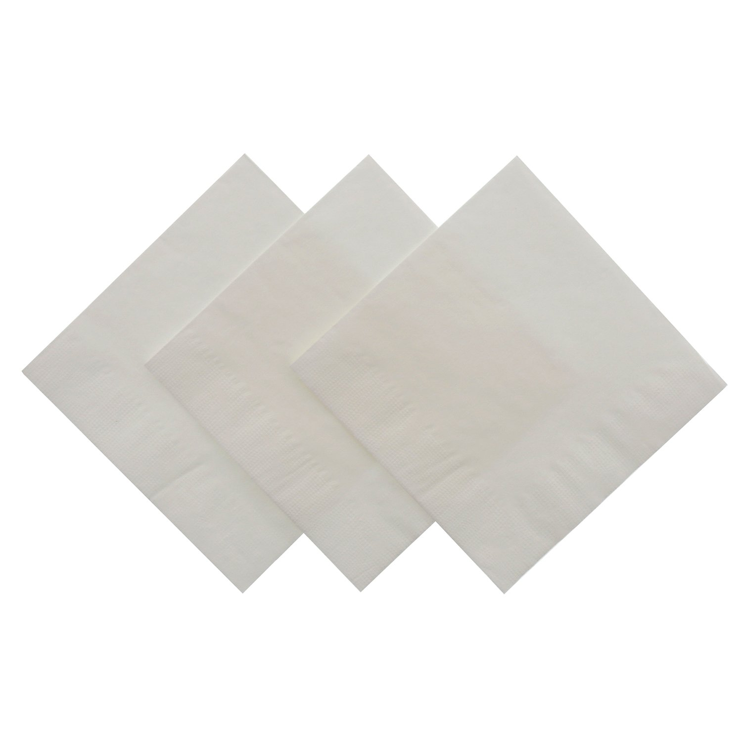 Royal White Beverage Napkin, Package of 1000