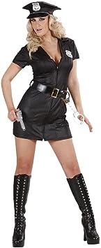 WIDMANN S.R.L. - Disfraz con accesorios chica policia: Amazon.es ...