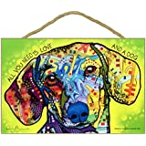 All You Need is Love /& a Dog 7 x 10.5 Sheltie Sign