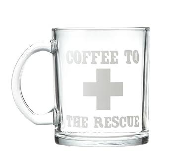 Amazon Glass Coffee Mug