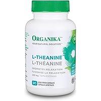 Organika L-Theanine, 90 vcaps