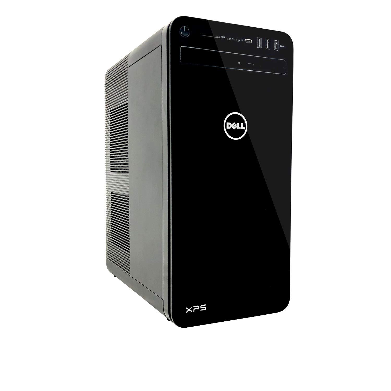 Dell XPS 8930 Tower Desktop - 8th Gen. Intel Core i7-8700 6-Core up to 4.60 GHz, 16GB DDR4 Memory, 1TB SATA Hard Drive, Intel UHD Graphics 630, DVD Burner, Windows 10 Pro, Black