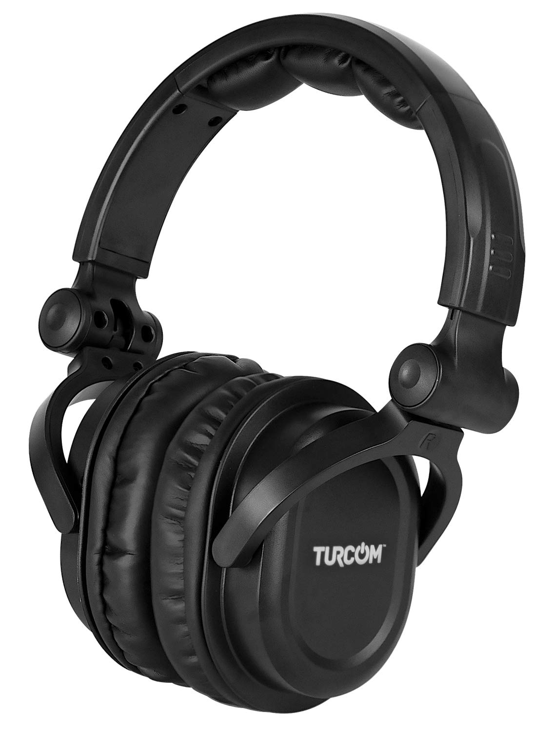 Auriculares Turcom Over-Ear Con Cable Gaming DJ-Style Monitor Stereo Studio Sound 50 mm Drivers y 100 dB Liviano Ajustab