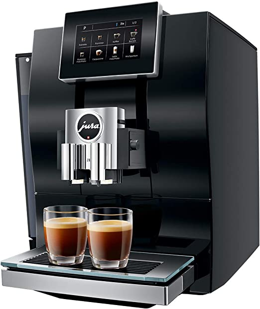 JURA Z8 Diamond Black Independiente Máquina espresso Negro 2,4 L ...