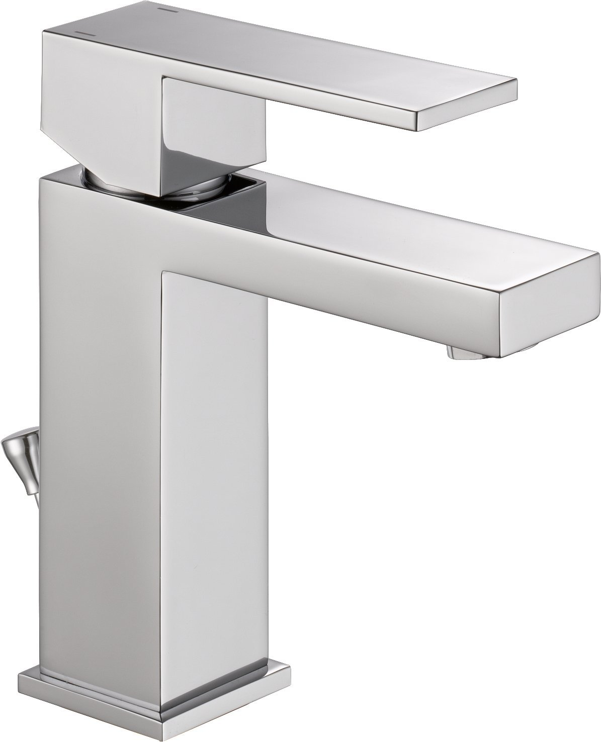 OpenBox Delta Faucet 567LF-PP Modern Single Handle Bathroom Faucet ...