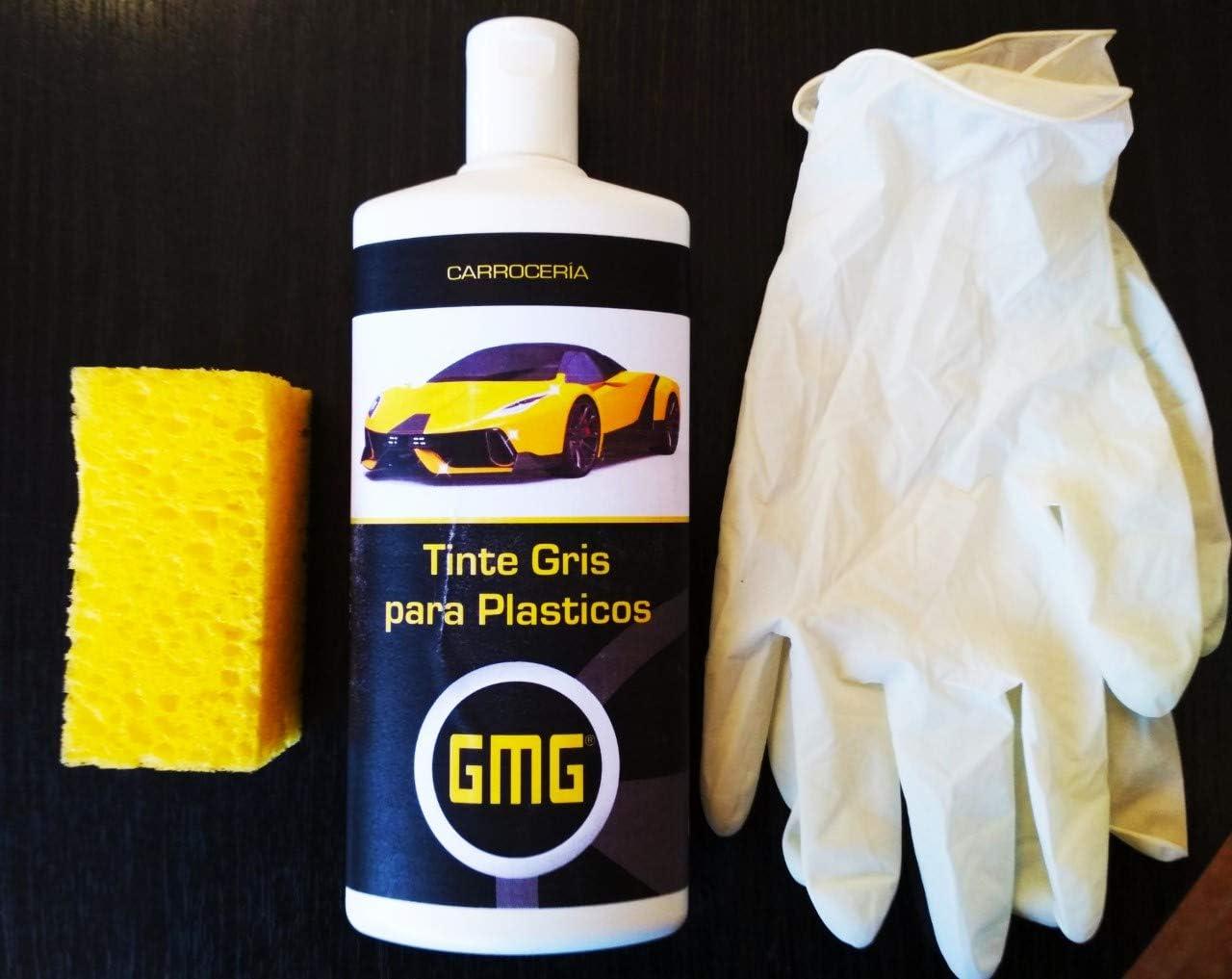 GMG RENOVADOR para PLASTICOS Tinte Gris 0,5L: Amazon.es ...
