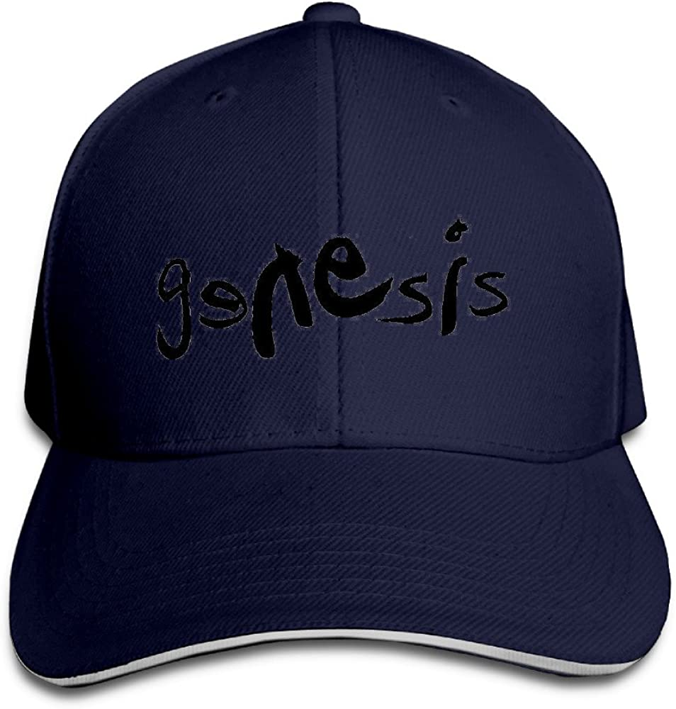 Fitted Sandwich Bill Cap Genesis English Rock Band Snapback Hats