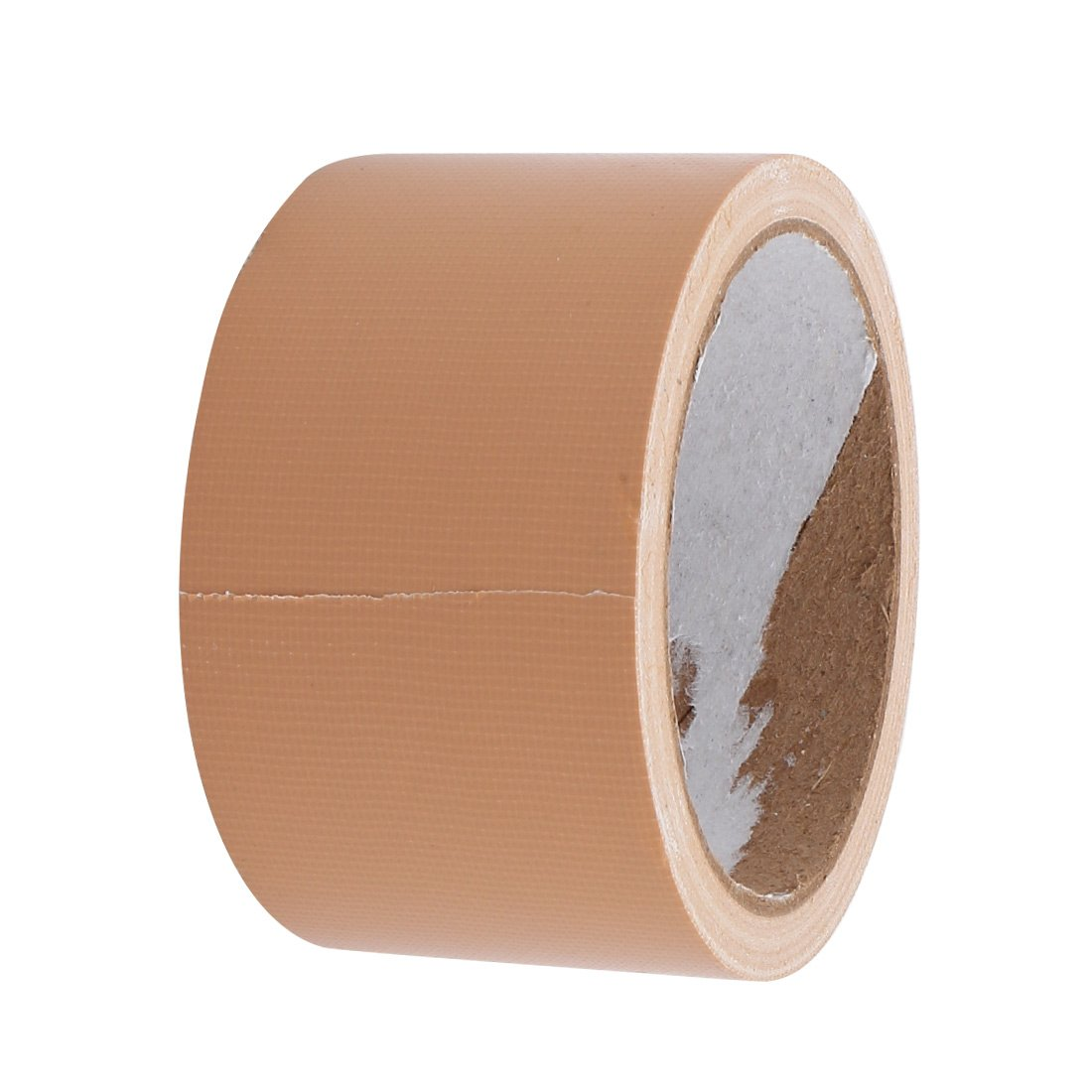 uxcell 55mm Width 10M Long Single Sided Safety Marking Carpet Tape Brown