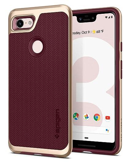 san francisco 35a11 d81d0 Spigen Neo Hybrid Designed for Google Pixel 3 XL Case (2018) - Burgundy