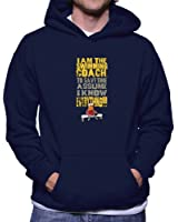 Teeburon I Am The Swimming Coach To Save Time Assume I Know Everything Hoodie