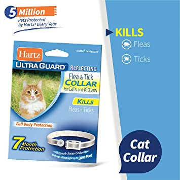 Amazon.com: ley-hartz ultraguard & de pulgas Tick Collar ...
