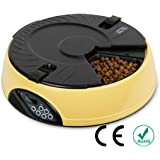 Automatic Pet Feeder PYRUS Pet Feeder Separate Compartments Food Trays Secure Locked Programmed Feeder for Pets