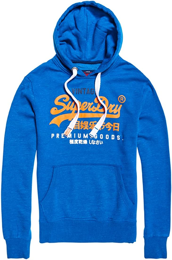 TALLA S. Superdry Premium Goods Tri Hood Sudadera para Hombre