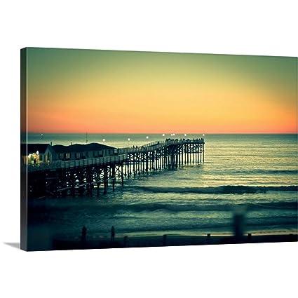 Amazon.com: Premium Thick-Wrap Canvas Wall Art Print Entitled San ...