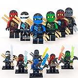 6 Sets Flying Phantom Ninjago Minifigures Building Block Toy Zane Lloyd Jay ONZ
