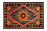 FUTURE HANDMADE Tapestry Hippie Galaxy Psychedelic Celestial Sun Moon Stars Wall Hanging Home Decor Bedspread
